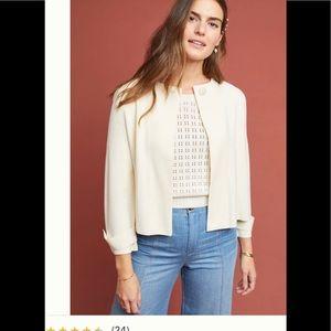 Anthroplogie knit blazer